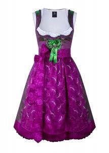 dirndl couture sari antoinette pink mit grün
