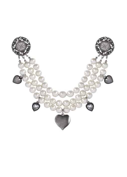 Trachtenschmuck Dirndl Charivari Perlen