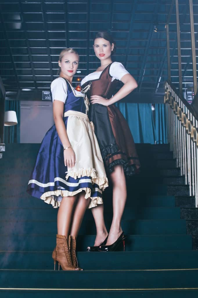 anina w shooting lookbook dirndl colette