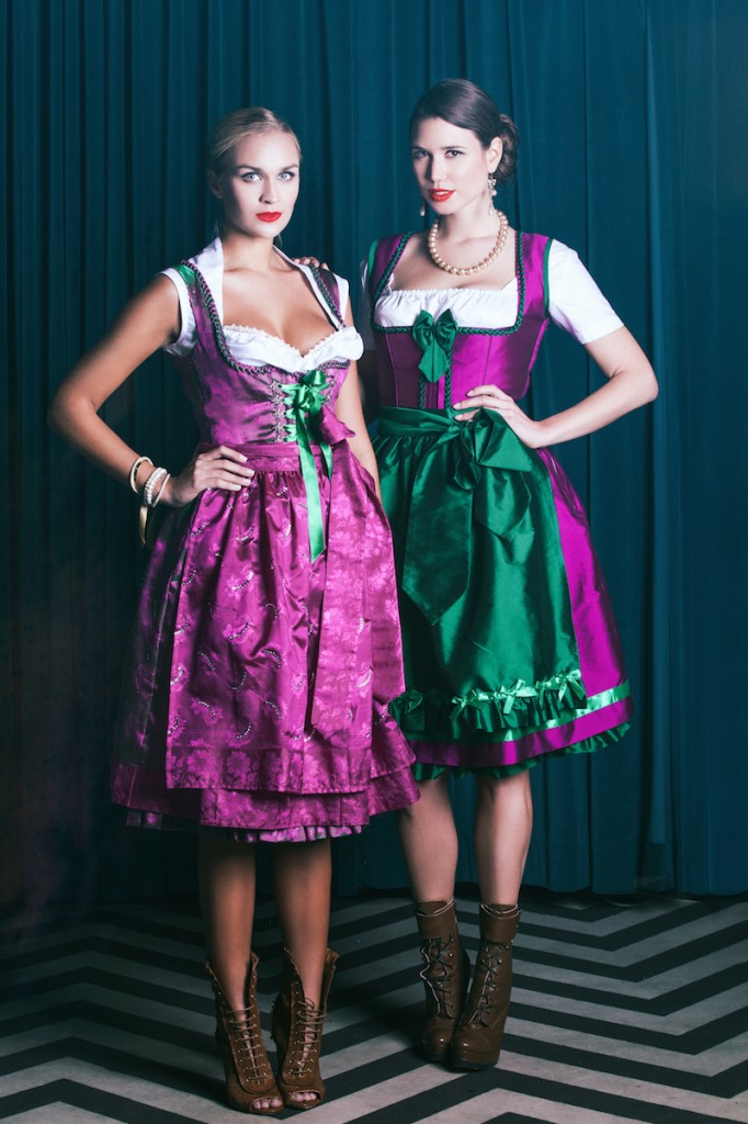 anina w shooting lookbook dirndl antoinette lotti