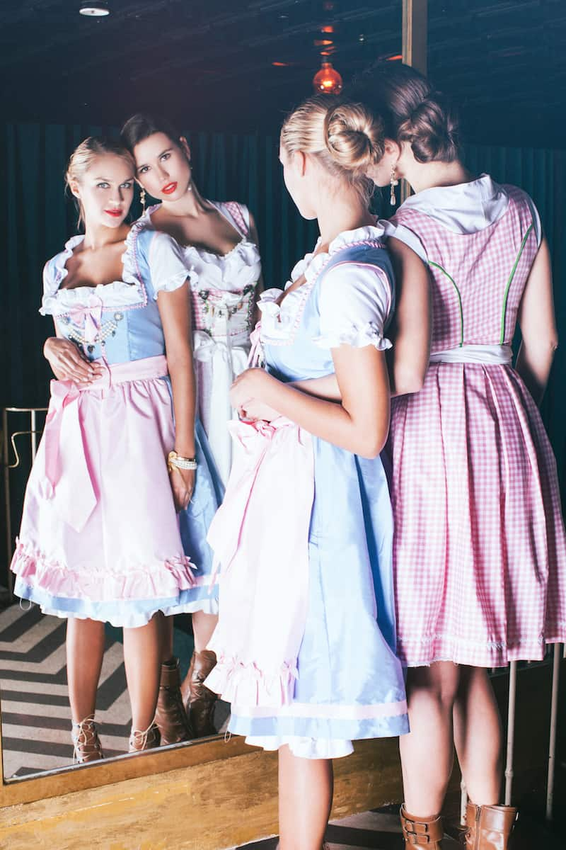 anina w shooting lookbook 2014 dirndl lotti colette