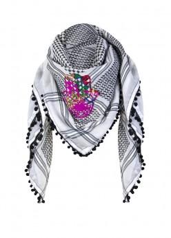 anina w tuch schal arabisch hand der fatima