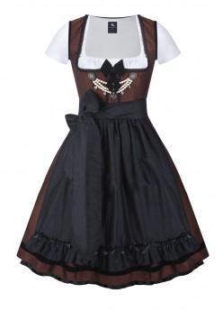 dirndl couture colette braun schwarz