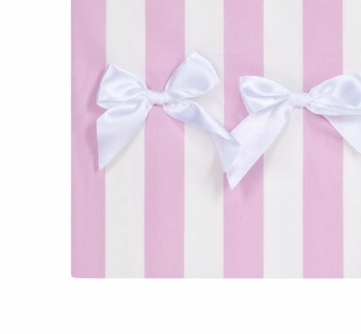 anina w kleidersack kleiderhülle rosa weiss gestreift detail zwei