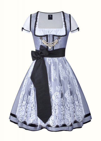 aninaw dirndl couture colette spitze dunkelgrau weiss
