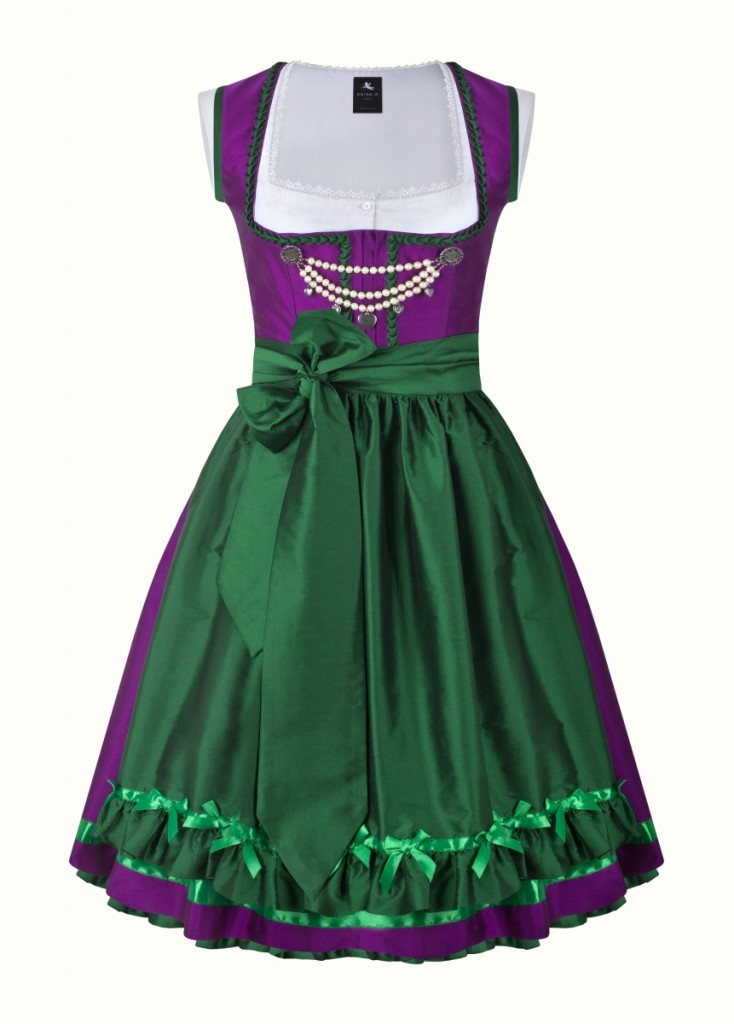 anina w dirndl couture colette lila dunkelgrün