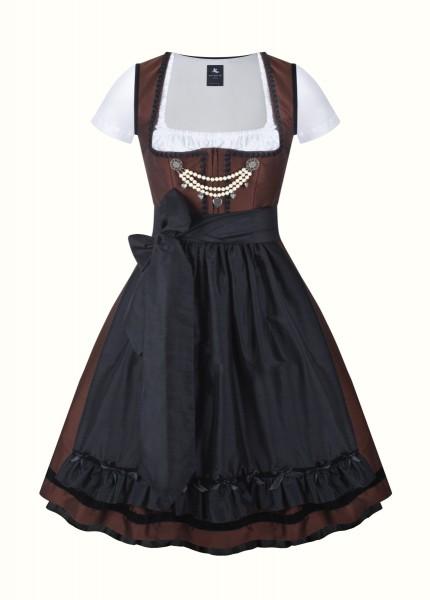 anina w dirndl couture colette braun schwarz