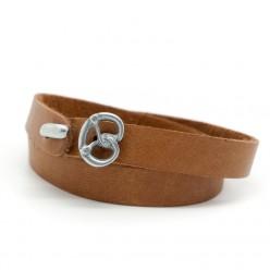 Tuya Designs Wiesn Armband Cognac Breze für Anina W