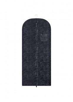 anina w kleidersack kleiderhülle schwarz paisleymuster