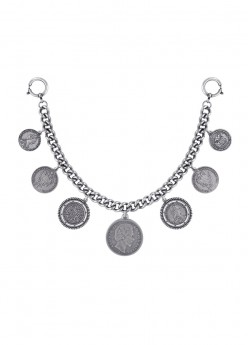 anina w trachtenschmuck charivari herren münzen