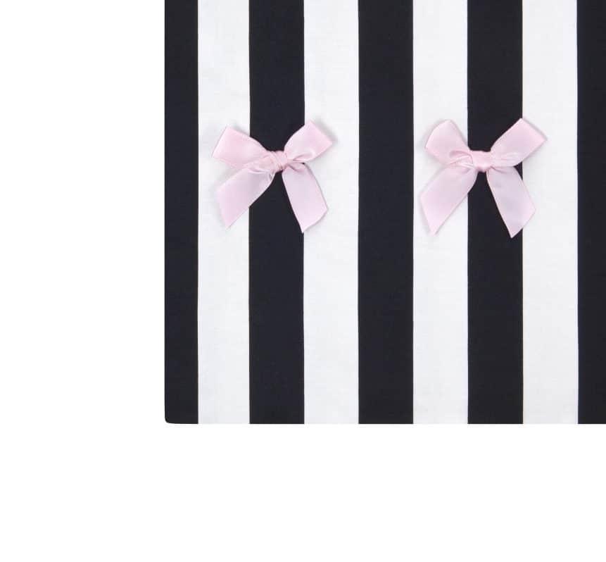 anina w kleidersack kleiderhülle rosa weiss gestreift detail