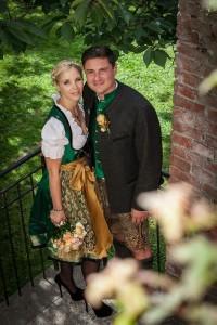 Bayerische Hochzeit in Trachten - Couture von Anina W