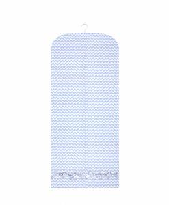 anina w kleidersack kleiderhülle zickzack blau weiss